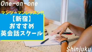 【新宿】おすすめのマンツーマン英会話スクール13選【学習目的別まとめ】