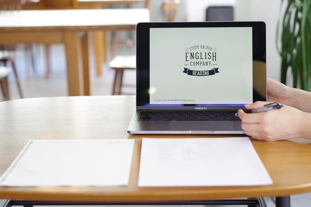 ENGLISH COMPANYのレッスンの様子
