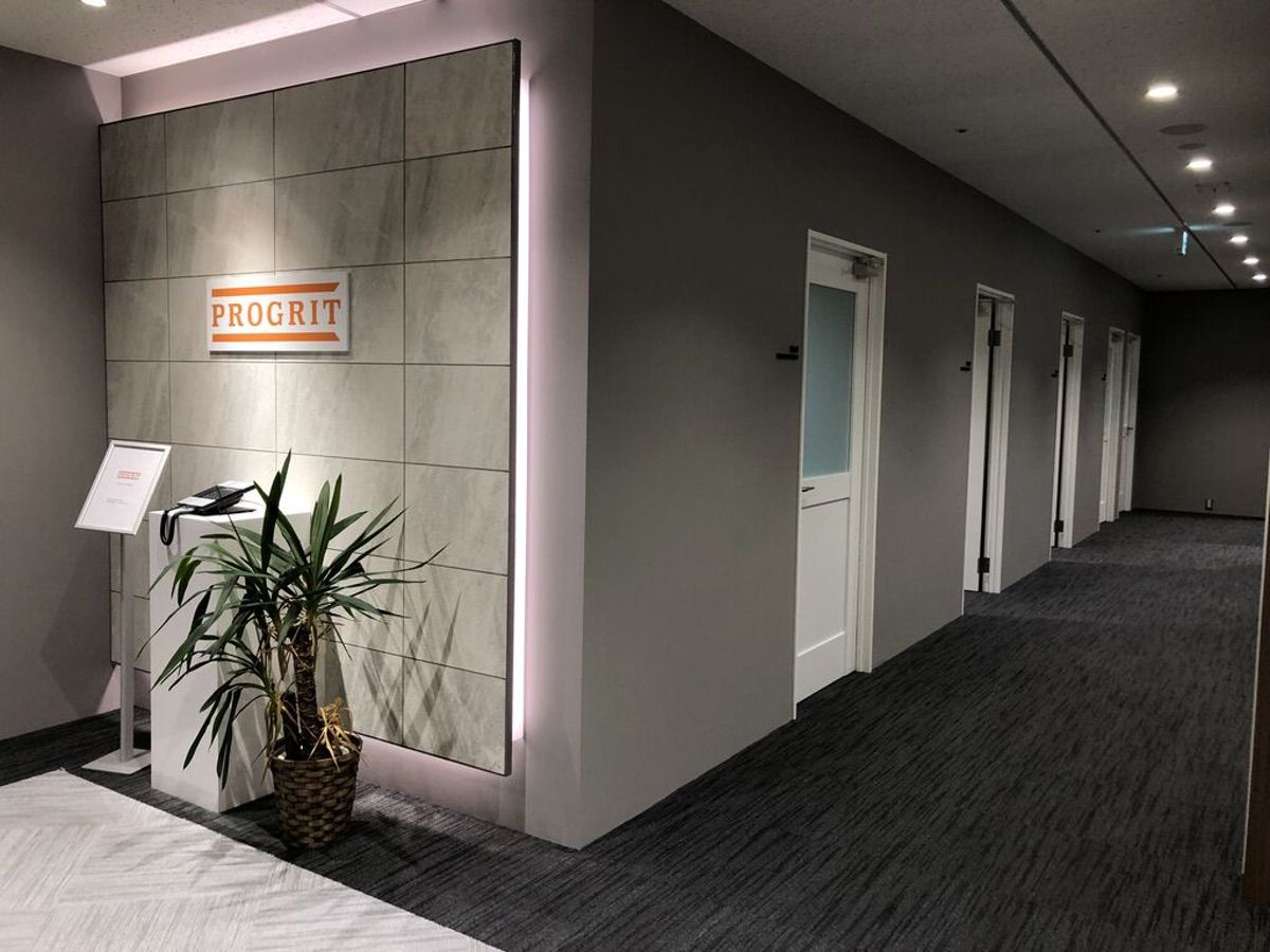 PROGRIT西梅田校のレッスンルーム