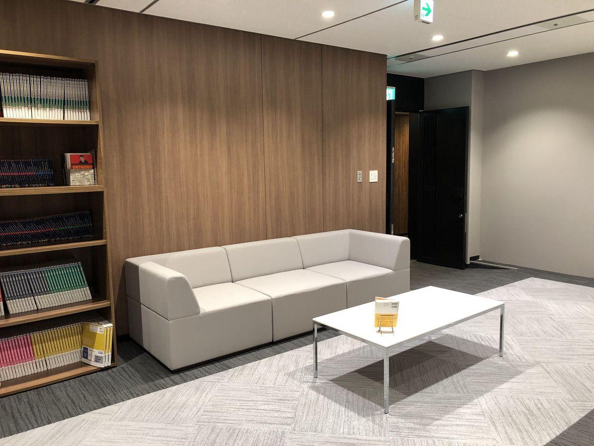 PROGRIT西梅田校の待合室