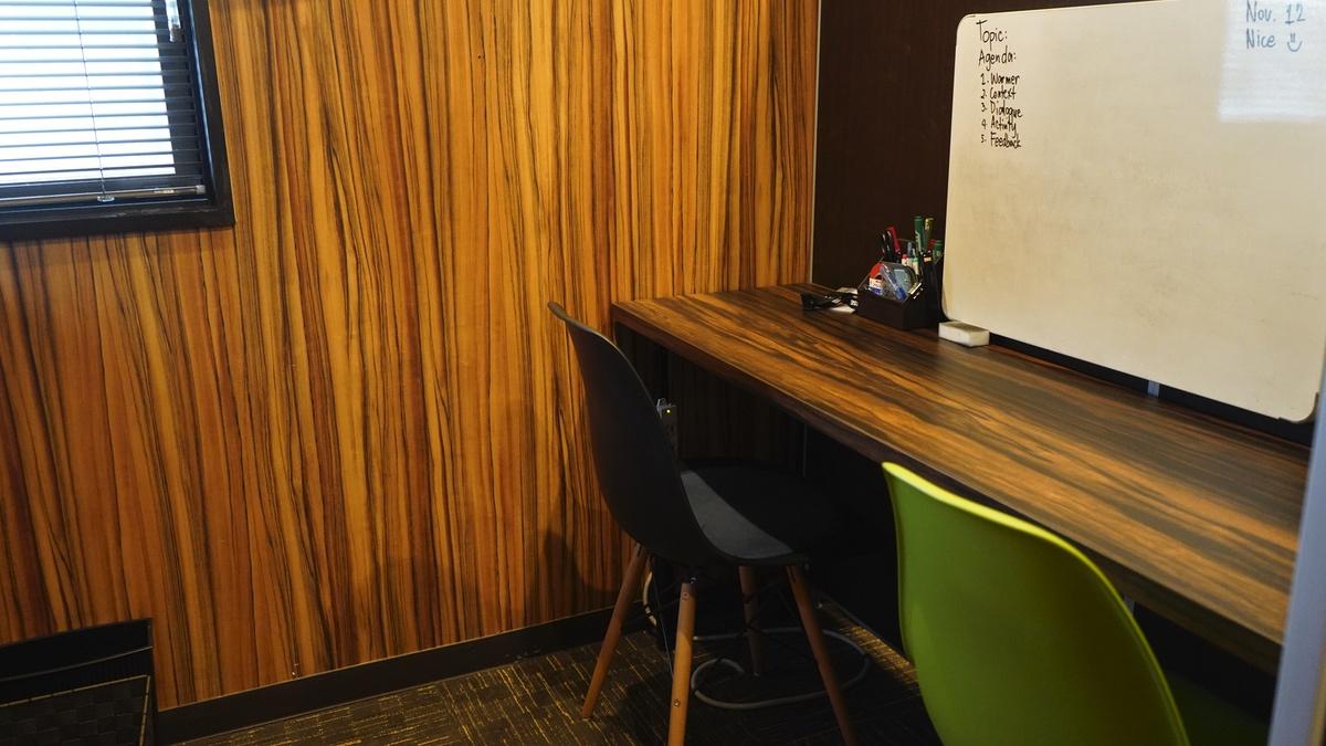 MeRISE(ミライズ)英会話渋谷校のレッスンルーム