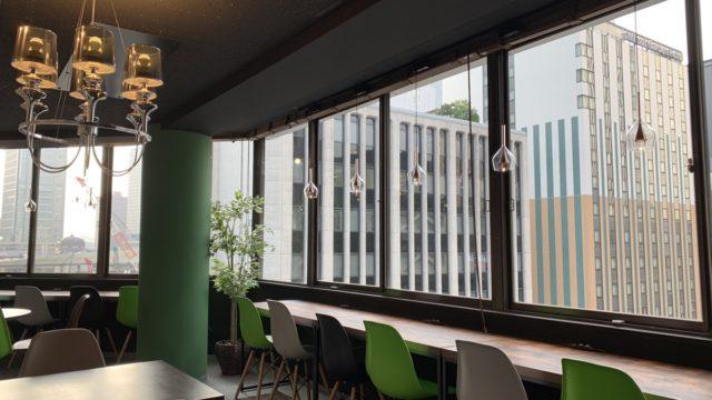 MeRISE(ミライズ)英会話東京駅八重洲校のフリースペース