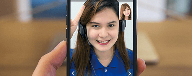 スマホアプリでオンライン英会話を完結できる