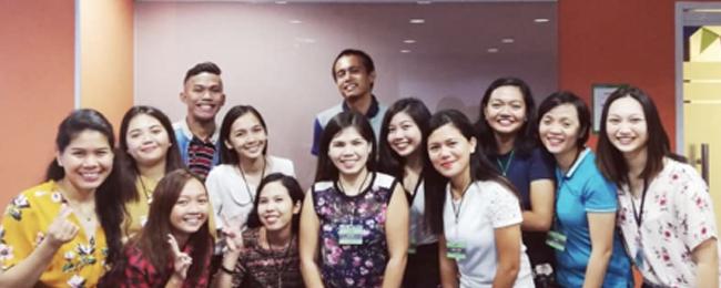 採用率1%と優秀なフィリピン人講師を採用