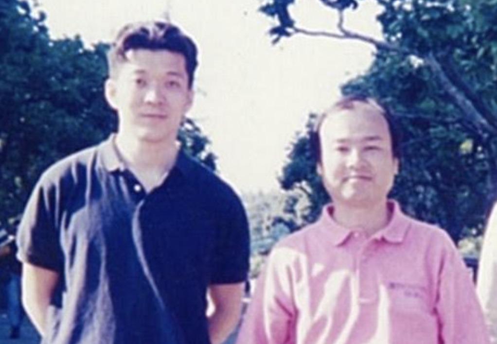 孫社長との海外出張の写真