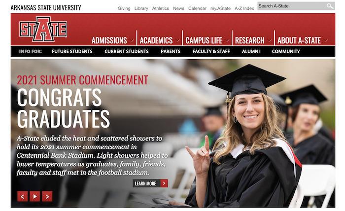 2. アメリカ:Arkansas State University