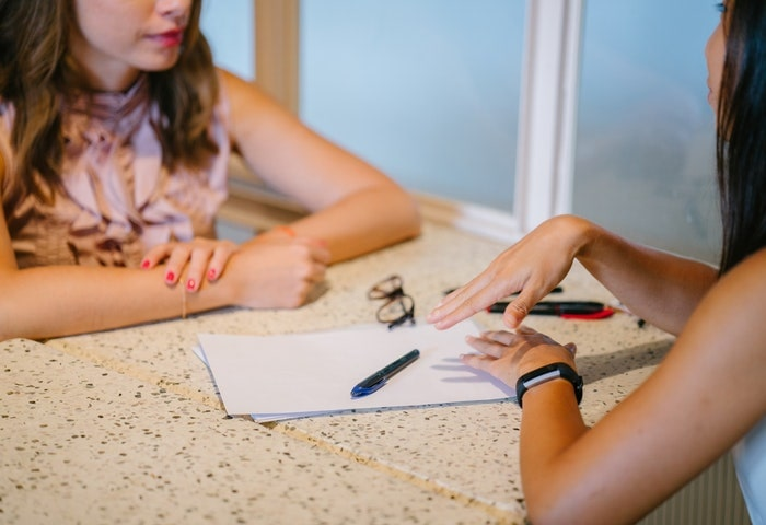 特徴2.信頼できるメンターとの学習カウンセリングを用意