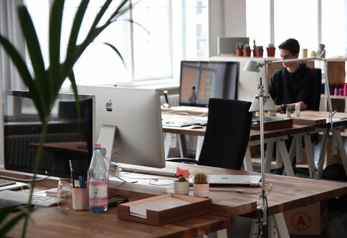 特徴4.シェアオフィスの一角をレッスン受講場所として利用可能